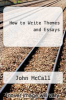 cover of How to Write Themes and Essays