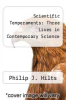 cover of Scientific Temperaments: Three Lives in Contemporary Science
