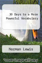 Cover of 30 Days to a More Powerful Vocabulary EDITIONDESC (ISBN 978-0671530310)