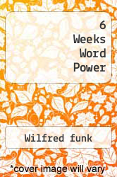 Cover of 6 Weeks Word Power EDITIONDESC (ISBN 978-0671817411)