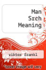 cover of Man Srch Meaning