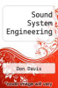 cover of Sound System Engineering (2nd edition)