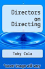 cover of Directors on Directing