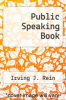 cover of Public Speaking Book (1st edition)