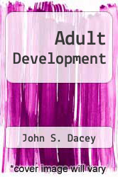 Cover of Adult Development EDITIONDESC (ISBN 978-0673160218)