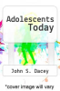 cover of Adolescents Today (3rd edition)