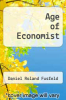 cover of Age of Economist (6th edition)