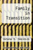 cover of Family in Transition (5th edition)