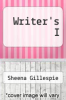 cover of Writer`s I