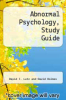 cover of Abnormal Psychology, Study Guide (2nd edition)