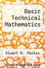 cover of Basic Technical Mathematics (2nd edition)