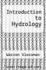 cover of Introduction to Hydrology (4th edition)