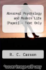 cover of Abnormal Psychology and Modern Life (Paper) - Text Only (10th edition)