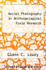 cover of Aerial Photography in Anthropological Field Research