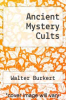 cover of Ancient Mystery Cults