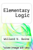 cover of Elementary Logic