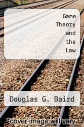 Cover of Game Theory and the Law EDITIONDESC (ISBN 978-0674341197)