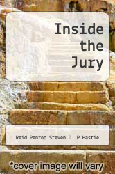 Cover of Inside the Jury EDITIONDESC (ISBN 978-0674455269)