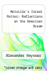 cover of Melville`s Israel Potter: Reflections on the American Dream