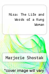 Cover of Nisa: The Life and Words of a Kung Woman 1 (ISBN 978-0674624856)