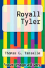 cover of Royall Tyler