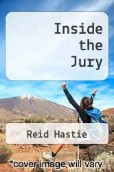 Inside the Jury by Reid Hastie - ISBN 9780674865938