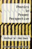 cover of Phonics in Proper Perspective (3rd edition)