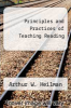 cover of Principles and Practices of Teaching Reading (3rd edition)