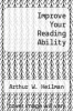 cover of Improve Your Reading Ability (2nd edition)
