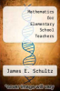 cover of Mathematics for Elementary School Teachers (2nd edition)