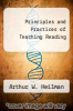 cover of Principles and Practices of Teaching Reading (6th edition)