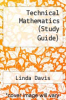 cover of Technical Mathematics (Study Guide)