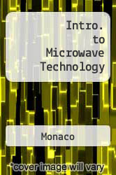 Intro. to Microwave Technology Excellent Marketplace listings for  Intro. to Microwave Technology  by Monaco starting as low as $19.00!