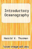 cover of Introductory Oceanography (6th edition)