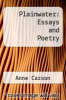 cover of Plainwater: Essays and Poetry (1st edition)