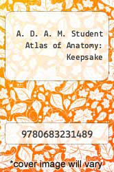 Cover of A. D. A. M. Student Atlas of Anatomy: Keepsake  (ISBN 978-0683231489)
