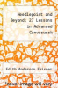 cover of Needlepoint and Beyond: 27 Lessons in Advanced Canvaswork