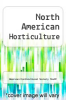 cover of North American Horticulture
