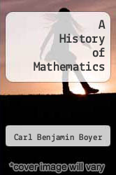 Cover of A History of Mathematics EDITIONDESC (ISBN 978-0691023915)