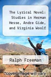 Cover of The Lyrical Novel: Studies in Herman Hesse, Andre Gide, and Virginia Woolf EDITIONDESC (ISBN 978-0691060712)