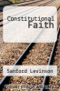 cover of Constitutional Faith