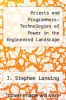 cover of Priests and Programmers: Technologies of Power in the Engineered Landscape of Bali