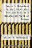 cover of France`s Rhineland Policy, 1914-1924: The Last Bid for a Balance of Power in Europe