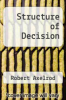 cover of Structure of Decision