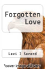 cover of Forgotten Love