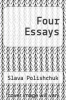 cover of Four Essays