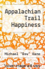 cover of Appalachian Trail Happiness