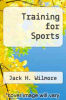 cover of Training for Sports (3rd edition)