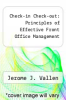 cover of Check-in Check-out: Principles of Effective Front Office Management (3rd edition)