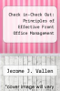 cover of Check in-Check Out: Principles of Effective Front Office Management (2nd edition)